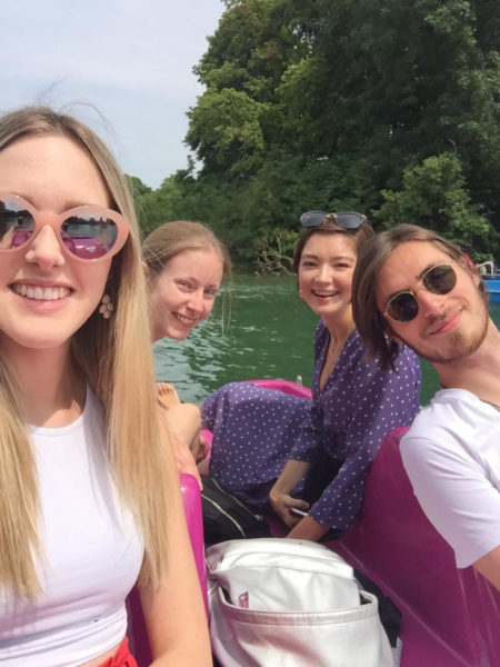 Alinguas Language School: Excursion: Boating in the Englischer Garten