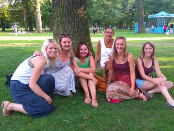The Alinguas Team at Hirschgarten