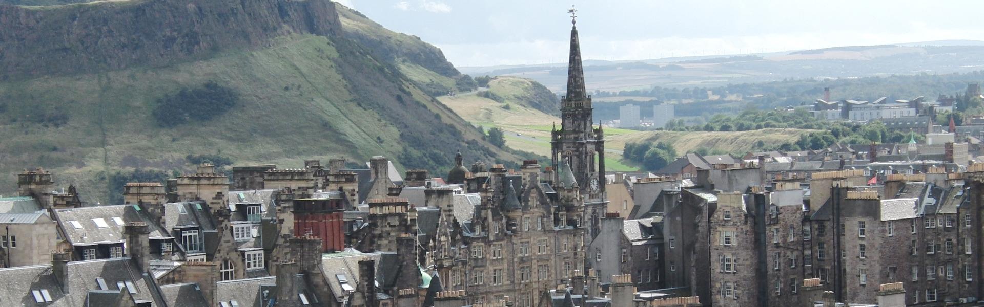 Edinburg in Schottland