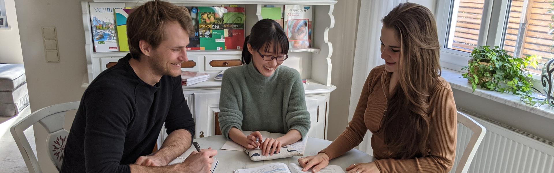 Deutsch Intensivkurs München: Unterricht mit Nathalie