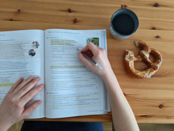 Online Sprachkurs: Zuhause lernen