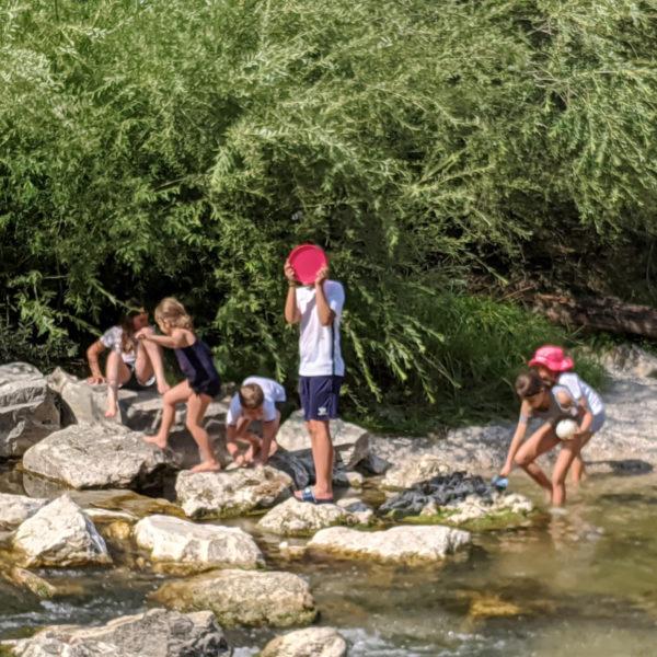 Sommer Deutschkurse für Kinder 7-9 in München: Ausflug an die Isar