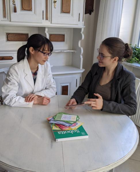 FSP Vorbereitung mit Nathalie