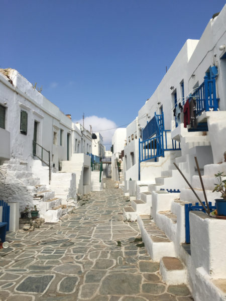 Island Folegandros in Greece