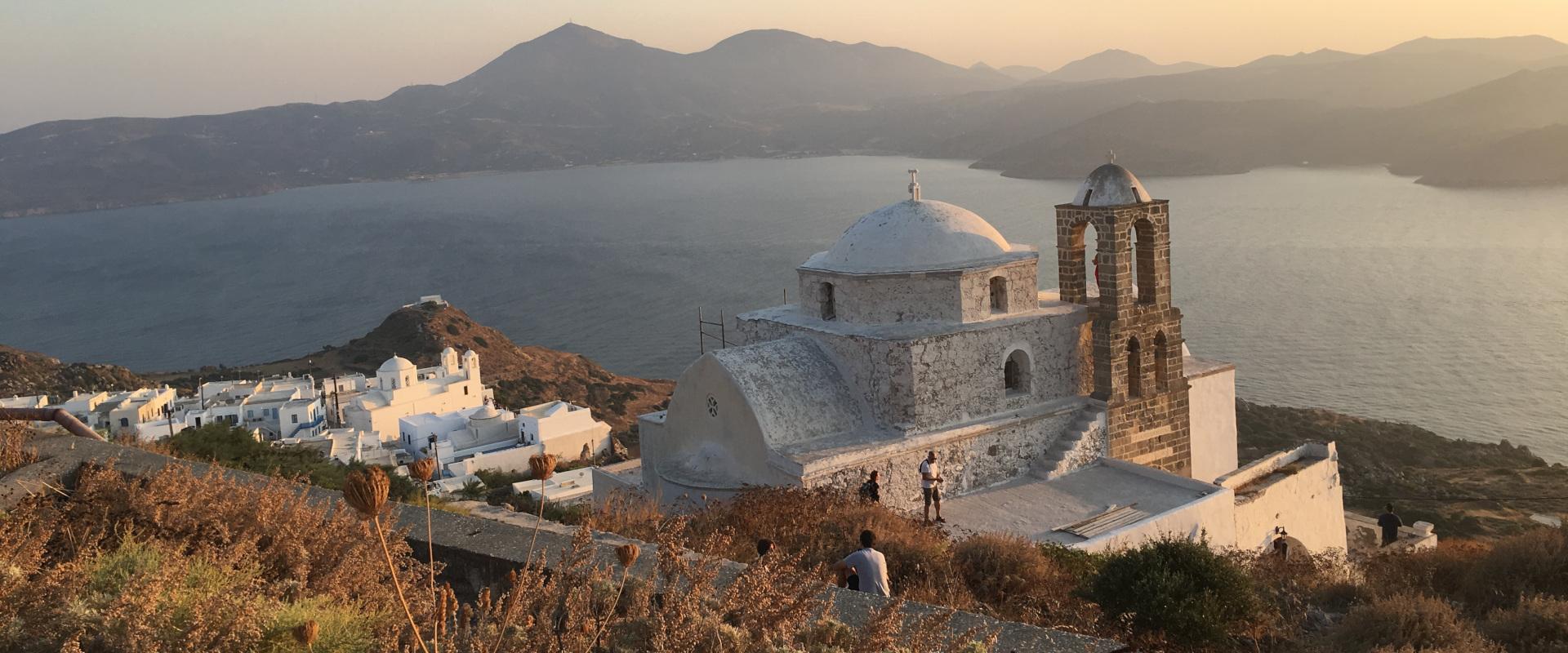 Island Milos in Greece