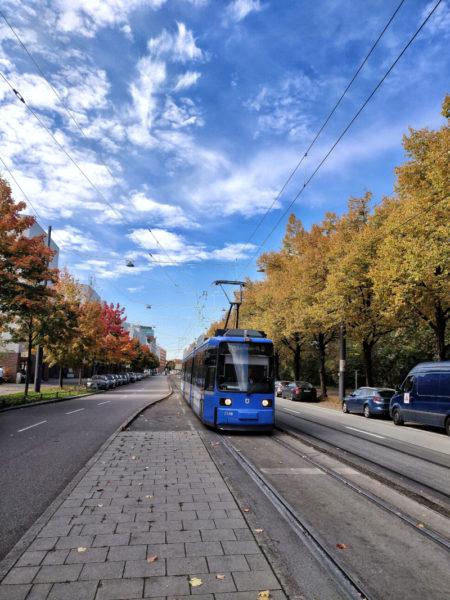 Trambahn in München