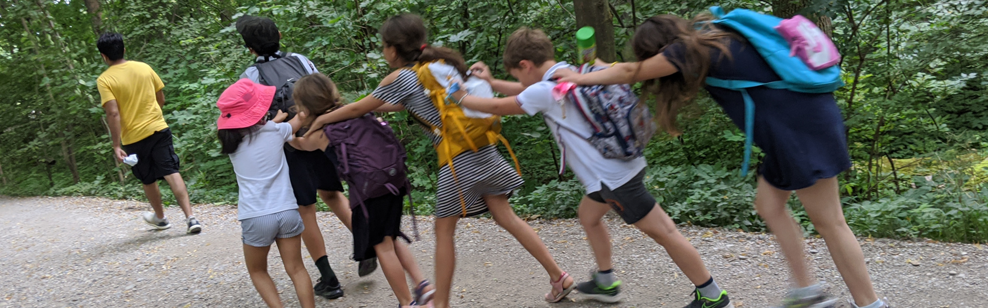 Summer German Classes for Children 7-9: Excursion to the Isar