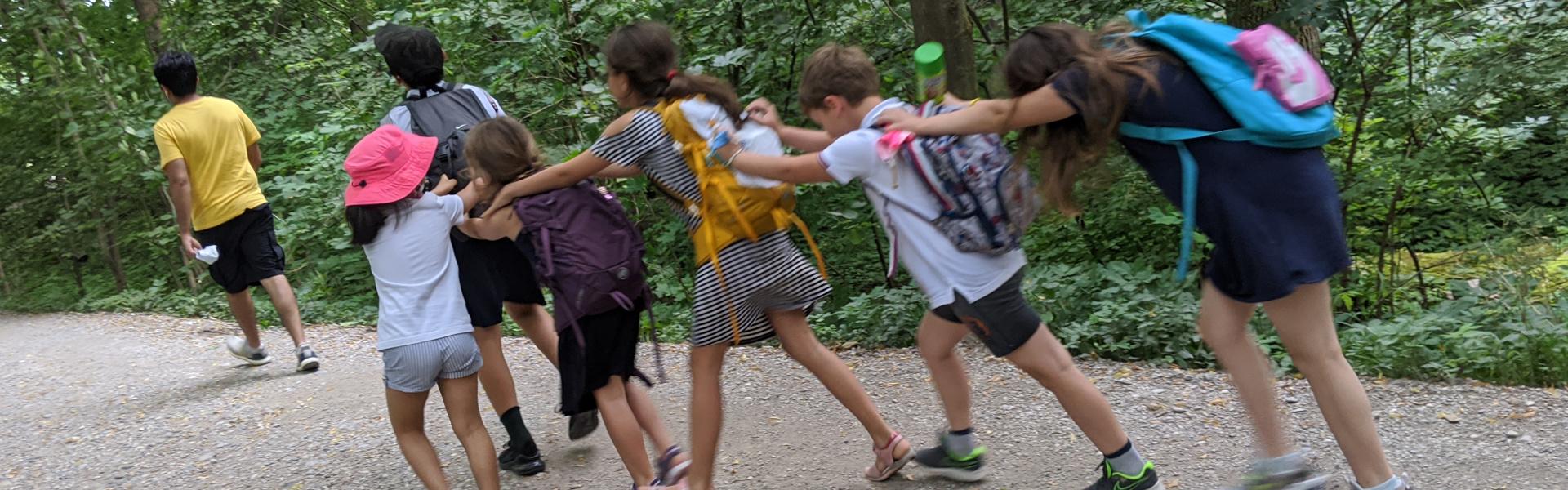 Deutschkurse im Sommer für Kinder 7-9: Ausflug an die Isar